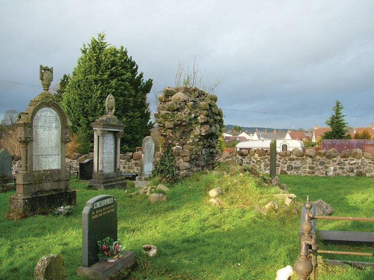 Church ruins, Doagh graveyard