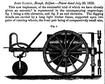 Hanson's potato digger 1855