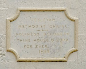 Datestone of Doagh Methodist Church