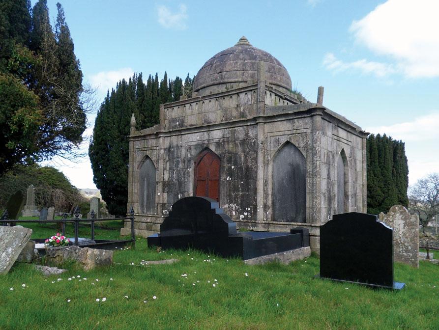 Stephenson mausoleum, Kilbride graveyard