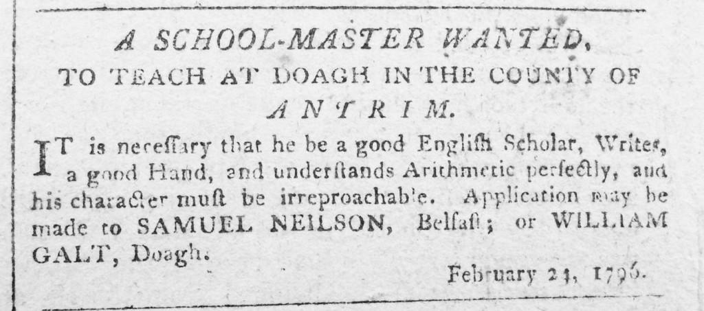 Galt February 1796