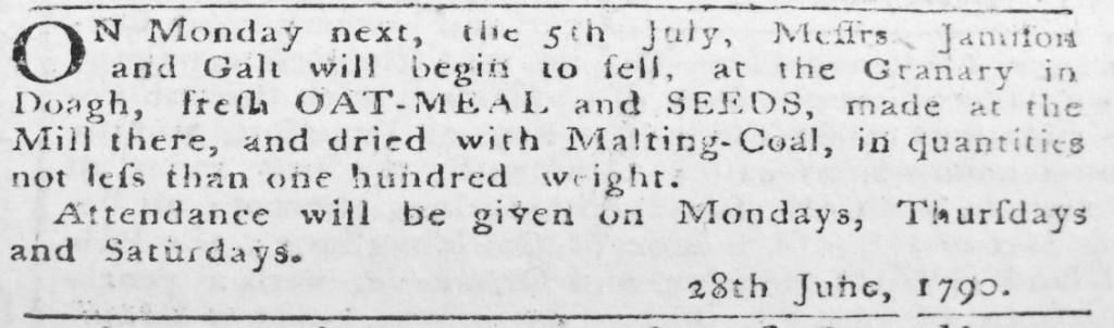 Galt June 1790